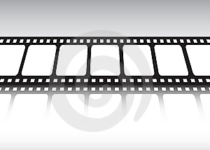 Film Strip Reflected Stock Photography - Image: 9250092