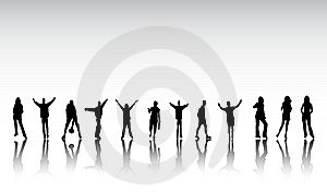 Normale Entspannende Leute Stockbilder - Bild: 9252514