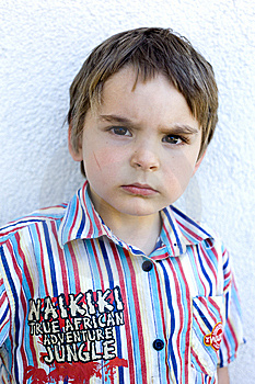 Intense But Cute Royalty Free Stock Photo - Image: 9253575