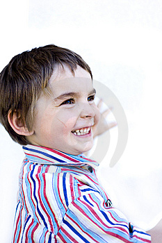Happy Kiddo Royalty Free Stock Image - Image: 9253576