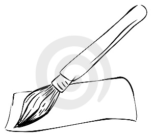 Paintbrush Stock Image - Image: 9255091