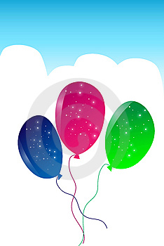 Balloons Royalty Free Stock Photo - Image: 9255385