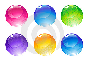 Decoration Balls Royalty Free Stock Images - Image: 9255399