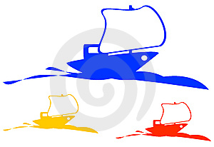 Ship Logo Stock Photos - Image: 9256143
