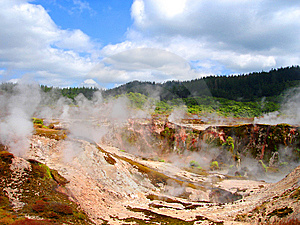 Hell's Gate, New Zealand Stock Photos - Image: 9257693