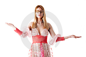 Blinded By Faith, Covered In Hair, Balanced Stock Images - Image: 9260424