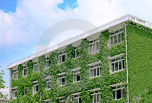 Green Buildings Royalty Free Stock Image - Image: 9261376