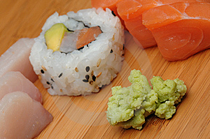 Sashimi And Maki Stock Photos - Image: 9261433
