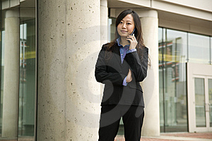 Businesswoman On Phone Stock Photos - Image: 9261563