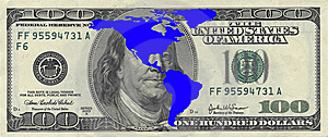 America And Dollar Stock Photo - Image: 9261980