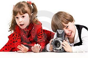 Photographers Royalty Free Stock Photo - Image: 9262335