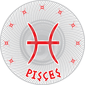 Pisces Zodiac Sign Stock Images - Image: 9263294