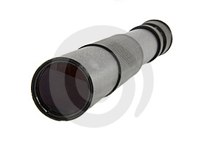 Old Black Spyglass Stock Photography - Image: 9263882