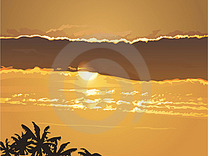 Sunset Stock Images - Image: 9264074