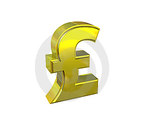 Pound Symbol Royalty Free Stock Photography - Image: 9265587
