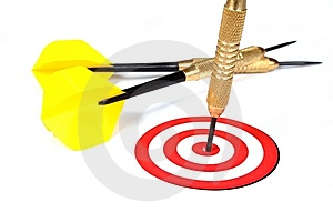 On Target Stock Image - Image: 9266571