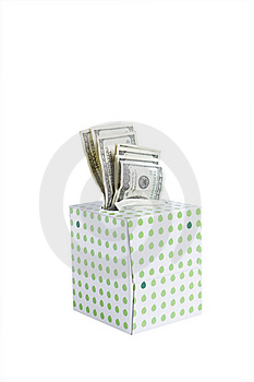 Crying About Cash Royalty Free Stock Images - Image: 9266729
