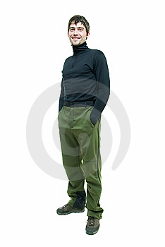 Man In Extreme Sport Suit Royalty Free Stock Photography - Image: 9267137