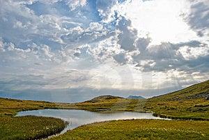 Rodnei Mountain Lake Royalty Free Stock Images - Image: 9267239