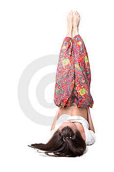 Yoga Girl Stock Photos - Image: 9268123