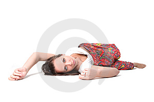 Yoga Girl Royalty Free Stock Image - Image: 9268136