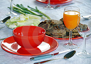 Dinner Royalty Free Stock Photo - Image: 9268585