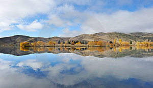 Perfect Reflection On The Lake Royalty Free Stock Photography - Image: 9268677