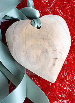 Wooden Heart Royalty Free Stock Images - Image: 9271799