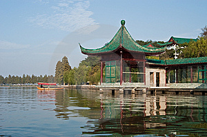 Chinees Park Royalty-vrije Stock Fotografie - Afbeelding: 9272527