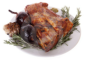 Grilled Pork Ribs Stock Photos - Image: 9273533