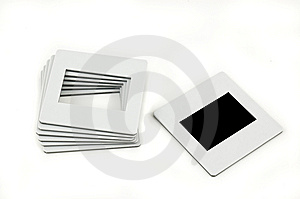 Pile Of Slides. Stock Image - Image: 9275141