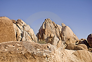 Desert Boulders Royalty Free Stock Photography - Image: 9275697