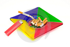 Ashtray Royalty Free Stock Photos - Image: 9278588