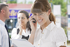 Talks Stock Photos - Image: 9279913