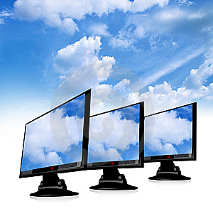 Tft Monitor Royalty Free Stock Photos - Image: 9281898