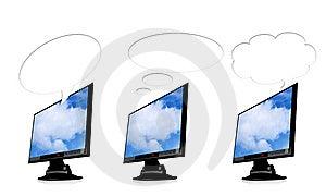 Tft Monitor Stock Image - Image: 9281931