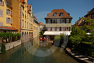 Petite Venice, Colmar Royalty Free Stock Photography - Image: 9283827