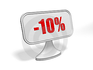 Discount Sign Stock Photography - Image: 9283942