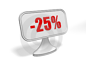 Discount Sign Royalty Free Stock Photography - Image: 9283957