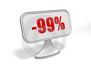 Discount Sign Stock Photo - Image: 9284010
