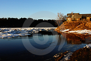 Snowy River Royalty Free Stock Images - Image: 9288029