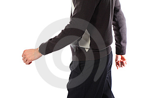 Torso Of Going Young Man Stock Photo - Image: 9289290
