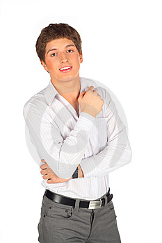 Portrait Of Young Beauty Man Stock Photos - Image: 9291893