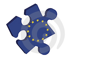 European Puzzle Royalty Free Stock Image - Image: 9294006