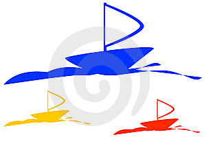 Ship Logo Royalty Free Stock Photography - Image: 9294467