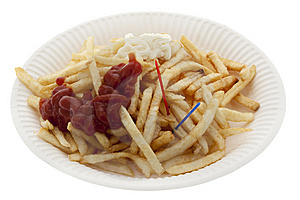 Pommes Frites Royalty Free Stock Images - Image: 9296829