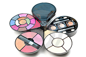 Cosmetic Kit Stock Photo - Image: 9297390