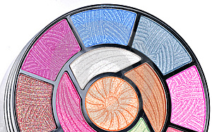 Colour Shades In Circle Royalty Free Stock Images - Image: 9298219