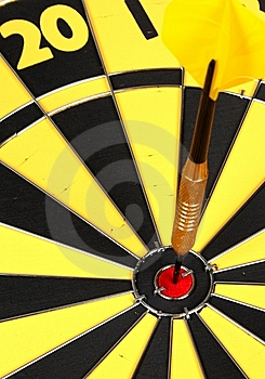 On Target Royalty Free Stock Photos - Image: 9299468