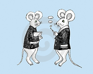Two Rats. Stock Photos - Image: 9299503